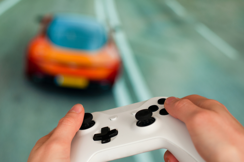 race game console